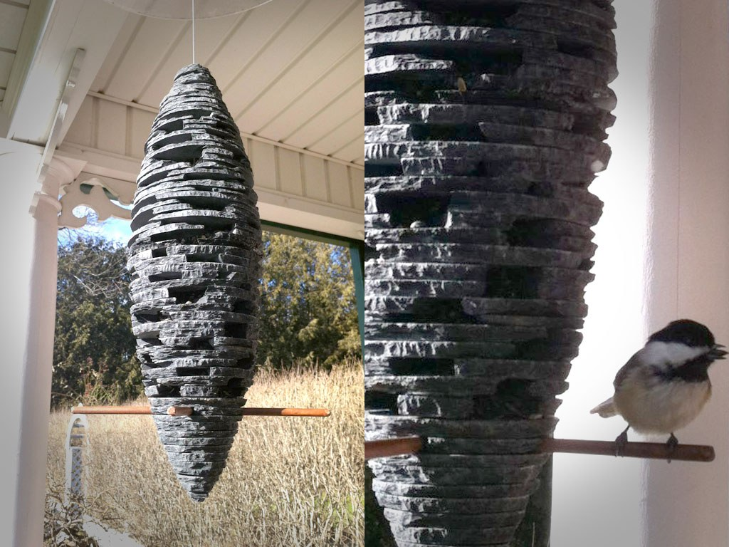 slate garden sculpture unique stone feature