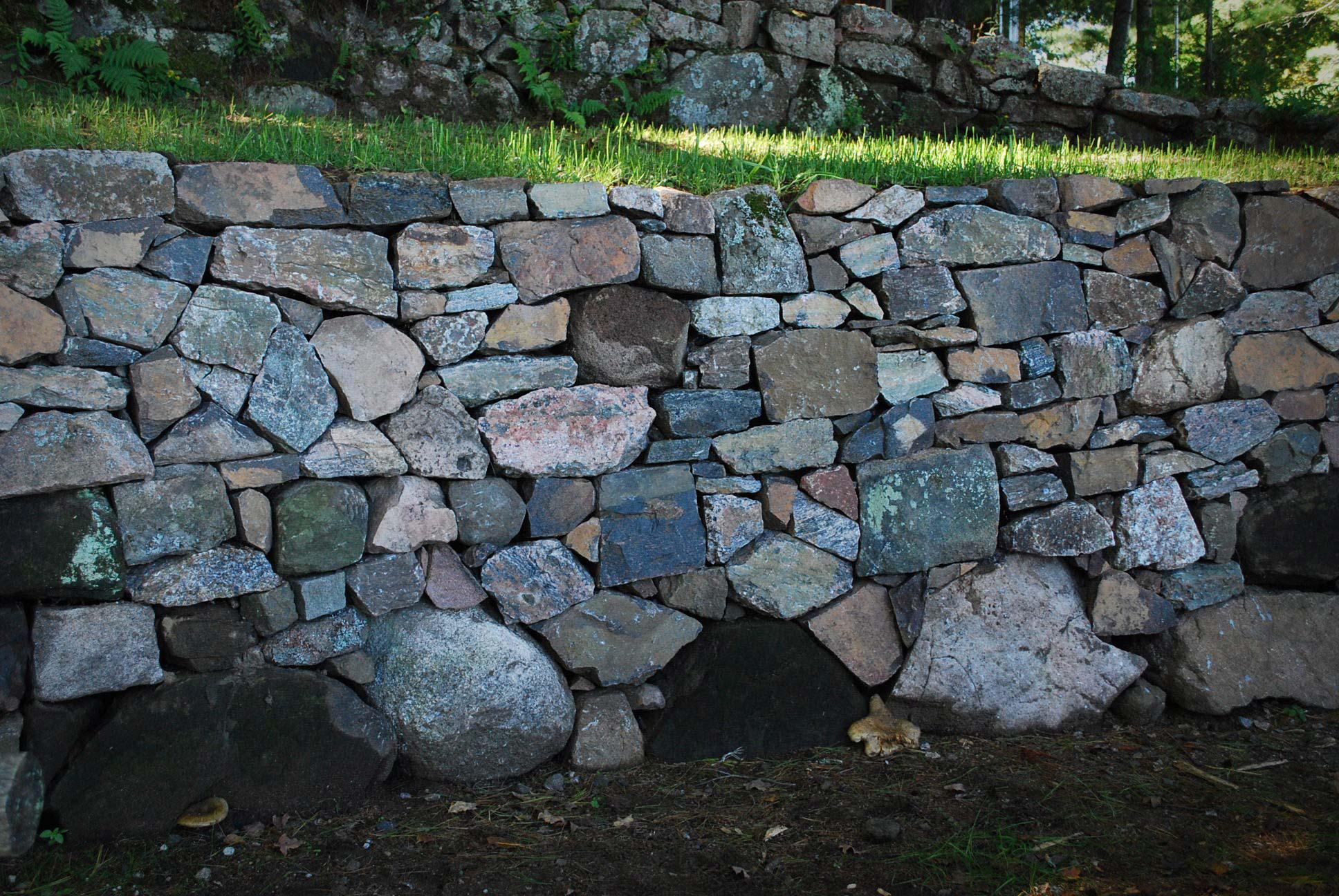 westport cottage wall restoration