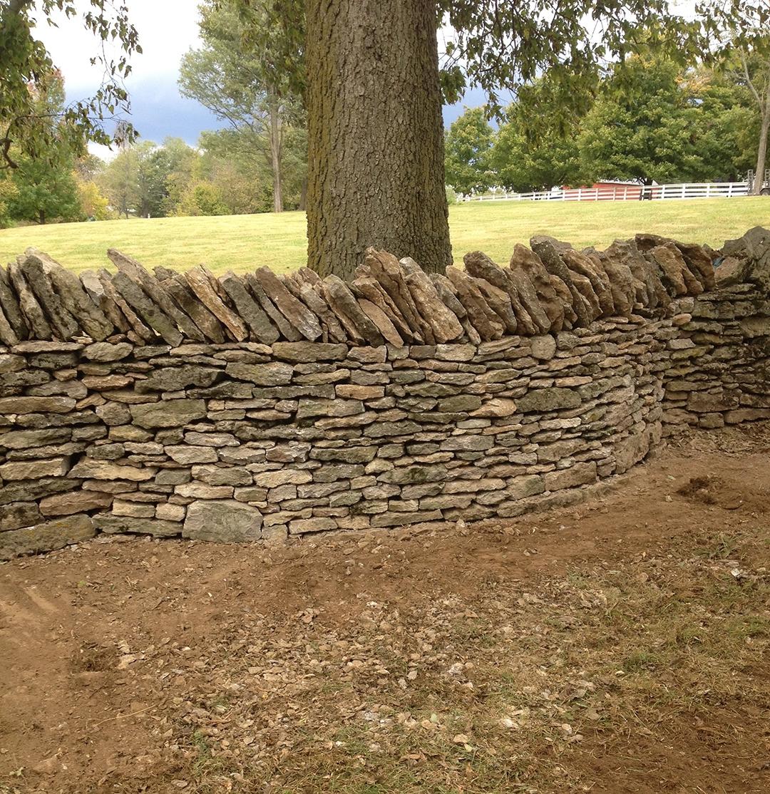 kentucky field stone wall restoration