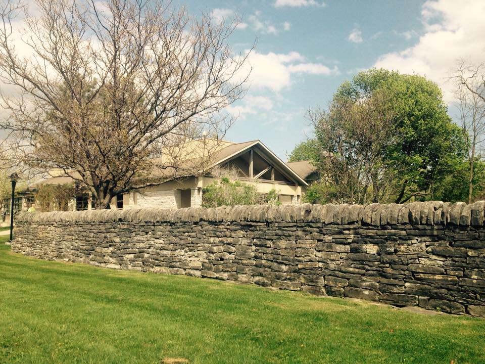 ontario heritage dry stone field boundary wall